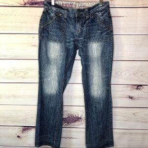 Boyfriend Mid Rise Jeans by Mossimo Supply Co.